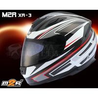 【提袋+贈品】M2R安全帽 XR-3 / XR3 白紅 CARBON 碳纖維帽殼 超輕 卡夢 全罩帽 耀瑪台中機車部品