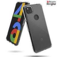 【Ringke】Rearth Google Pixel 4a 4G Fusion 透明背蓋防撞手機殼(Pixel 4a 4G版 手機殼)