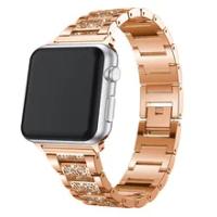 สำหรับIwatch 5สแตนเลสสำหรับIนาฬิกา44มม.สายสำหรับApple Watch Applewatch Series 4นาฬิกาข้อมือเข็มขัด
