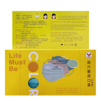 南六 醫療級成人口罩(彩色款-薄荷綠)【富康活力藥局】