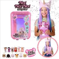 正品正版nanana surprise娃娃二代驚喜娜娜娜盲盒芭比lol娃娃玩具女孩套裝網紅女孩潮流扭蛋兒童嬰兒其他