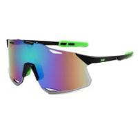 Men's Cycling Sunglasses Frameless Ultra Light Cycling Goggles Windproof Protection MTB Bike Sports Running Sunglasses