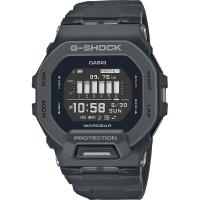 【CASIO 卡西歐】G-SHOCK 纖薄運動系藍芽計時手錶-沉著黑(GBD-200-1)