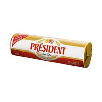 法國總統牌無鹽發酵奶油塊500g/塊
