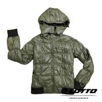 英德鞋坊~義大利第一品牌-LOTTO樂得 女款防風防潑水機能連帽外套 [65650] 橄欖綠特價498元