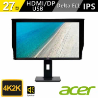 【Acer 宏碁】BM270 27型 IPS 專業繪圖螢幕