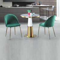 【RB565-3】馬其頓白色陶瓷圓桌