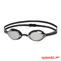 【SPEEDO】成人競技鏡面泳鏡 SPEEDSOCKET(黑)