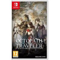 【Nintendo 任天堂】Switch遊戲 歧路旅人 八方旅人(國際外盒版 支援中文)