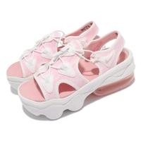 【NIKE 耐吉】涼鞋 Air Max Koko Sandal 女鞋 氣墊 避震 舒適 輕便 厚底 穿搭 球鞋 白 粉(CI8798-101)