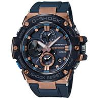 刷卡滿3千回饋5%點數 CASIO G-SHOCK 競速太陽能運動腕錶/GST-B100G-2ADR