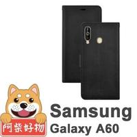 【阿柴好物】Samsung Galaxy A60(經典仿牛皮磁吸多功能皮套)