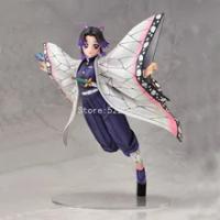 Demon Slayer รูป Kochou Shinobu Action Figure Kimetsu ไม่มี Yaiba Kamado Tanjirou Rengoku Kyoujurou ตุ๊กตาตุ๊กตา