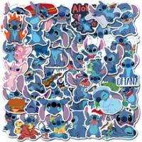 Disney 50Pcs ไม่ซ้ำกันน่ารักสติกเกอร์เด็กสติกเกอร์กระเป๋าเดินทาง Graffiti สติกเกอร์กันน้ำ