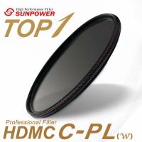 ◎相機專家◎ SUNPOWER TOP1 HDMC CPL 46mm 超薄鈦元素鍍膜偏光鏡 湧蓮公司貨