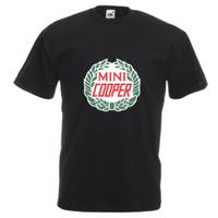 春秋装 Mini Cooper Car Mg Rover Enthusiast 男士纯棉短袖吉尔丹T恤