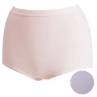 【Wacoal 華歌爾】新伴蒂內褲M-3L高腰三角款(迷迭紫)
