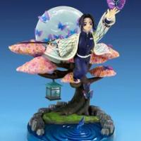 Demon Slayer Kochou Shinobu อะนิเมะสาวเซ็กซี่รูปของเล่น PVC Action Figure ของเล่น Kochou Shinobu Collection ตุ๊กตาตุ๊กตาของขวัญ