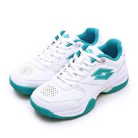 【LOTTO】女 全地形入門級網球鞋 SPACE 600系列(白藍 1085)