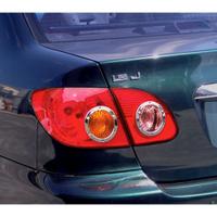 圓夢工廠 Toyota Altis 9代 2001~2007 改裝 鍍鉻銀 車燈框飾貼 後燈圓框 尾燈內圓框