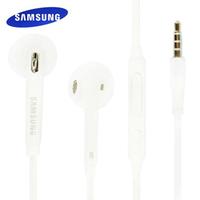 【Samsung】S6/S7/Note5 入耳式線控扁線 原廠盒裝耳機(白)