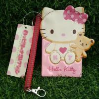 👍三麗鷗正版 Hello Kitty 凱蒂貓 伸縮 票卡套 票卡夾 悠遊卡 證件套 名牌套 識別證 行李箱 吊牌 名牌