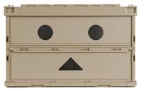 日本【TRUSCO】折疊式 收納箱 阿愣限定版 51.3L TR-C50B-A-DNB