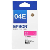 【EPSON】04E 原廠紅色墨水匣(T04E350)