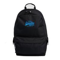 【Superdry】後背包 經典Logo VINTAGE LOGO MONTANA(黑)
