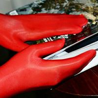 絲襪手套912針絲襪手套8D超薄油亮分指套性感迷人黑絲男女絲滑通用飛機套 嬡孕哺