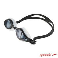 【SPEEDO】成人度數泳鏡 Mariner Supreme(黑)