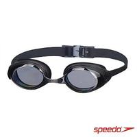 【SPEEDO】成人 進階型泳鏡 Cyclone II(黑/灰)