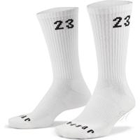 【NIKE 耐吉】襪子 運動襪 中筒襪 喬丹 籃球襪 12雙組 U JORDAN ESSENTIAL CREW 白 DH4287-100