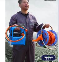 110v 充電式抽水泵農用灌溉澆水澆菜神器小型家用澆水機抽水機菜園澆地 可開發票 快速出貨