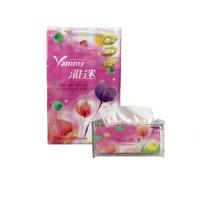 雅迷抽取式衛生紙(120抽)(一箱60包)+雅迷壓克力衛生紙盒一個  (箱購-加價購組合方案之一)