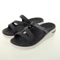 【SKECHERS】女 休閒系列涼拖鞋 FOAMIES ARCH FIT ASCEND(111234NVY)