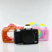 Silicone Armor Skin Case Body Cover Protector for Canon EOS M50 M50 Mark II EOS M50 II Digital Camera Inner Soft Bag