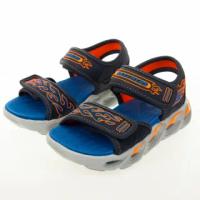 【SKECHERS】男童系列 涼拖燈鞋 THERMO-SPLASH(400109LNVOR)