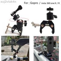 Insta 360 相機自行車安裝座自行車摩托車支架, 用於 Gopro Insta 360 One X R 骨架框架支