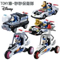 迪士尼 妙妙保衛隊 高飛 米奇 米妮 唐老鴨 警車 TOMY車 tomica takara 模型小車 一組五入不拆售 4904810142294 真愛日本