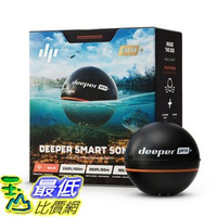 [107美國直購] 無線魚探儀 Deeper PRO Smart Portable Sonar - Wireless Wi-Fi Fish Finder for Kayak and Ice Fishing