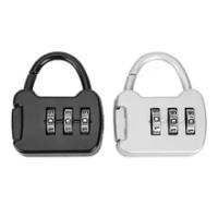 สังกะสีอัลลอยด์3หลักรหัสรหัสผ่านล็อคแบบพกพา Mini Travel กระเป๋าถือกระเป๋าเดินทางกระเป๋าเป้สะพาย...