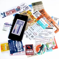 24 Pcs เดินทาง Boarding Pass ตั๋วกระเป๋าเดินทาง Creative สติกเกอร์สำหรับแล็ปท็อปกระเป๋ากระเป๋าจักรยานโทรศัพ...