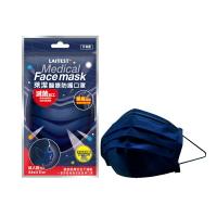 萊潔 醫療防護成人口罩-丹寧藍(5片入/袋)