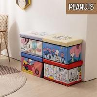 【收納王妃】史努比系列 長方收納箱椅 4款可選(48x30x30cm)