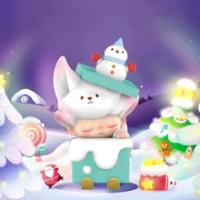 เฉพาะตัวอักษร Dimoo คริสต์มาสชุดเปิดกล่องตาบอด Kawaii ของเล่นตุ๊กตาน่ารักอะนิเมะของขวัญ