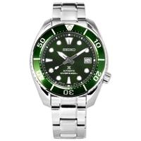 【SEIKO 精工】綠水鬼 PROSPEX 潛水錶 機械錶 防水200米 不鏽鋼手錶 綠色 45mm(6R35-00A0G.SPB103J1)