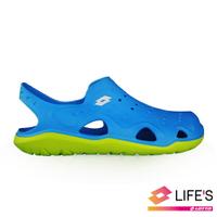 LOTTO樂得-義大利第一品牌 男款輕潮洞洞鞋 [0916] 藍【巷子屋】