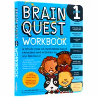 Brain Quest Workbook Grade 1 Primary School English Textbook Exercises Questions and Answers for Kids Age 6-7