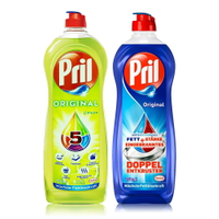 【德國 Pril】超濃縮5效洗碗精(清新/檸檬)750ml